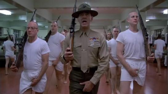 Il Sergente Maggiore Hartman.