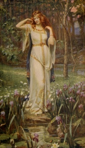 Freyja and the Necklace (J. Doyle Penrose, 1913)