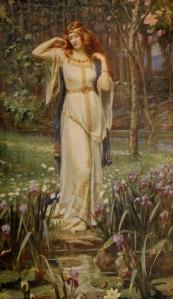 Freyja and the Necklace (J. Doyle Penrose, 1913)